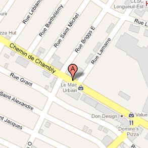 Accéder aux indications sur Google Map.